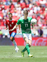 Press Eye - Belfast -  Northern Ireland - 03rd June 2018 - Photo by William Cherry/Presseye. Northern Ireland\'s Paddy McNair during Sunday mornings International Friendly at the Nuevo Estadio Nacional de Costa Rica in San Jose.   Photo by William Cherry/Presseye