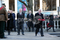 Press Eye - Belfast - Northern Ireland - 12th November 2017 . Dr Tom Kelly, the Hon Consul for Malta lays a wreath at The Cenotaph in the Garden of Remembrance, City Hall Grounds, Belfast during the National Day of Remembrance . It is the city of Belfast's tribute to the memory of those who died in the Great War and the Second World War. . . Photo by Kelvin Boyes / Press Eye..