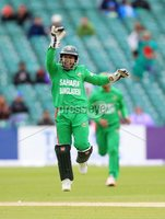 ©Press Eye Ltd Northern Ireland -18th July  2012. Mandatory Credit - Picture by Darren Kidd/Presseye.com . RSA T20 International Series.. Ireland v Bangladesh, 1st T20I, Stormont, Belfast..  Mushfiqur Rahim(w/c) of Bangladesh celebrates.