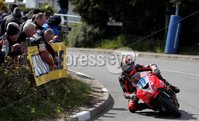 ©Press Eye Ltd Northern Ireland -28th April 2012 - Mandatory Credit - Picture by Matt Mackey/presseye.com. Cookstown 100 road races.. Ryan Farquhar in the Supersport race.