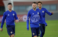 Press Eye - Belfast -  Northern Ireland - 11th October 2018 - Photo by William Cherry/Presseye. Northern Ireland\'s Oliver Norwood during Thursday nights training session at the Ernst Happel Stadium in Vienna, ahead of their UEFA Nations League game against Austria.