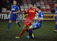 Danske Bank Premiership, Solitude, Belfast 1/12/2018 . Cliftonville vs Dungannon Swifts. Joe Gormley scored his second goal for Cliftonville. Mandatory Credit INPHO/Freddie Parkinson