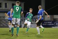 PressEye - Belfast - Northern Ireland - 10th October 2017. Euro 2019 Qualifier. Northern Ireland U21 vs Estonia U21. Pictured: Northern Ireland\'s Dale Gorman.. Picture: PressEye / Philip Magowan