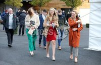 Press Eye - Belfast - Northern Ireland - 3rd November 2018 . Down Royal Festival of Racing - Day 2. Racegoers pictured at Down Royal . Photo by Kelvin Boyes / Press Eye..