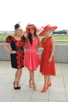 ©Press Eye Ltd Northern Ireland - 23rd  June  2012. Magners festival of racing at Down Royal. .Blathnaid Carlin, Donna Ross, Anna Heron. Mandatory Credit - Picture by Stephen Hamilton /Presseye.com. . .
