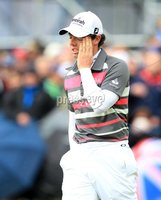 ©Press Eye Ltd Northern Ireland -30th June 2012. Mandatory Credit - Picture by Darren Kidd/Presseye.com .  . 2012 Irish Open at Royal Portrush..  Day 3 - Rory McIlroy on the 18th