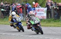 Mandatory Credit: Rowland White/Presseye. Motor Cycle Racing: Tandragee 100. Venue: Tandragee. Date: 05th April 2012. Caption: Sam Dunlop (33)