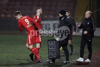 Danske Bank Premiership, Solitude, Belfast 1/12/2018 . Cliftonville vs Dungannon Swifts. Rory Donnelly is replaced for Ryan Curran Cliftonville. Mandatory Credit INPHO/Freddie Parkinson