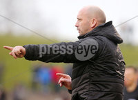 Danske Bank Premiership at the Oval in Belfast . 07.03.2020. Glentoran Vs Cliftonville. Cliftonvilles manager Paddy mcLaughlin. . Mandatory Credit INPHO/Jonathan Porter