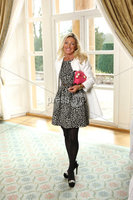 Press Eye - Belfast - Northern Ireland - Saturday 10th March 2012 -  Candy Plum fashion show at Hillsborough Castle. Fiona Morrison . Picture by Kelvin Boyes / Press Eye .