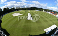 Turkish Airlines One Day International Challenge, Stormont, Belfast 13/9/2017. Ireland vs West Indies. A general view of Stormont as play is delayed. Mandatory Credit ©INPHO/Rowland White