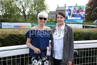 Press Eye - Belfast - Northern Ireland - 7th May 2018  - . May Day Meeting at Down Royal Racecourse.. Pamela Ballantine and Caroline Todd pictured at the County Down racecourse.. Photo by Kelvin Boyes / Press Eye .