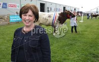 Press Eye - Belfast - Northern Ireland - 15th May 2019 -  Diane Dodds at the Balmoral Show.. Photo by Brian Little / Press Eye..