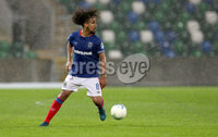 Press Eye - Belfast -  Northern Ireland - 10th July 2019 - Photo by William Cherry/Presseye/Inpho. Linfield\'s new signing Bastien Hery during Wednesday nights Champions League, Qualifying First Round, 1st Leg game at the National Stadium at Windsor Park, Belfast.