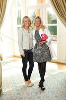 Press Eye - Belfast - Northern Ireland - Saturday 10th March 2012 -  Candy Plum fashion show at Hillsborough Castle. Claire Harrison and Fiona Morrison . Picture by Kelvin Boyes / Press Eye .