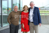 Press Eye - Belfast - Northern Ireland - 7th May 2018  - . May Day Meeting at Down Royal Racecourse.. Matthew Slevin, Monica McCaffrey and Mark McCaffrey pictured at the County Down racecourse.. Photo by Kelvin Boyes / Press Eye .