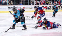 Press Eye - Belfast -  Northern Ireland - 14th September 2018 - Photo by William Cherry/Presseye. Belfast Giants\' David Rutherford during Friday nights Challenge Cup game against Dundee Stars at the SSE Arena, Belfast.       Photo by William Cherry/Presseye