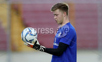Press Eye - Belfast -  Northern Ireland - 28th May 2018 - Photo by William Cherry/Presseye. Northern Ireland goalkeeper Bailey Peacock-Farrell during Monday evenings training session at the Estadio Rommel Fernandez, Panama City.