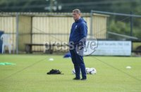 PressEye-Northern Ireland- 19th August  2019-Picture by Brian Little/PressEye. Northern Ireland Jim Magilton (Elite Performance Director) against Estonia U16   during Monday evening\'s challenge match at Breda Park (Knockbreda FC).. Picture by Brian Little/PressEye .