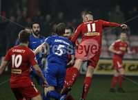 Danske Bank Premiership, Solitude, Belfast 1/12/2018 . Cliftonville vs Dungannon Swifts. Rory Donnelly scored his second goal for Cliftonville. Mandatory Credit INPHO/Freddie Parkinson