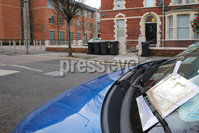 PressEye - Belfast - Northern Ireland - 16th April 2018. General views of the Rugby Road area near Queen\'s University where new parking controls have come into force today.. Picture: Philip Magowan / PressEye