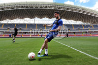 Press Eye - Belfast -  Northern Ireland - 02nd June 2018 - Photo by William Cherry/Presseye. Northern Ireland\'s Conor McLaughlin pictured during Saturday mornings training session at the Nuevo Estadio Nacional de Costa Rica in San Jose ahead of Sundays Friendly International against Costa Rica.. Photo by William Cherry/Presseye