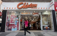 Northern Ireland- 9th Mayl 2012 Mandatory Credit - Photo-Jonathan Porter/Presseye.  General views of Clinton Cards in Belfast City Centre.  The greeting cards chain is due to go into administration.