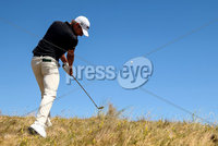 2018 Dubai Duty Free Irish Open, Ballyliffin Golf Club, Co. Donegal 8/7/2018. Joakim Lagergren on the 3rd. Mandatory Credit ©INPHO/Oisin Keniry