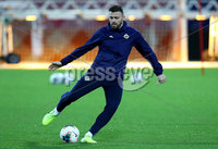 Press Eye - Belfast, Northern Ireland - 09th October 2019 - Photo by William Cherry/Presseye. Northern Ireland\'s Stuart Dallas during Wednesday nights training session at Stadium Feijenoord ahead of Thursday nights UEFA Euro 2020 Qualifier against Netherlands in Rotterdam. Photo by William Cherry/Presseye