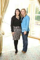 Press Eye - Belfast - Northern Ireland - Saturday 10th March 2012 -  Candy Plum fashion show at Hillsborough Castle. Cathy Law and Nola Harrison. Picture by Kelvin Boyes / Press Eye .