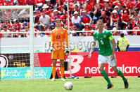 Press Eye - Belfast -  Northern Ireland - 03rd June 2018 - Photo by William Cherry/Presseye. Northern Ireland\'s Conor Hazard makes his debut during Sunday mornings International Friendly at the Nuevo Estadio Nacional de Costa Rica in San Jose.   Photo by William Cherry/Presseye