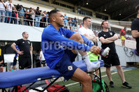 Press Eye - Belfast -  Northern Ireland - 28th May 2018 - Photo by William Cherry/Presseye. Northern Ireland\'s Josh Magennis during Monday evenings training session at the Estadio Rommel Fernandez, Panama City.