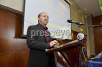 12th May 2018. Party Leader Stephen Agnew pictured at the Annual Green party conference at the Clayton Hotel in Belfast.. Mandatory Credit Presseye/Stephen Hamilton