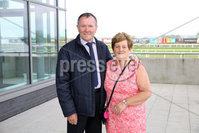 Press Eye - Belfast - Northern Ireland - 7th May 2018  - . May Day Meeting at Down Royal Racecourse.. Gerald and Bridget Greene pictured at the County Down racecourse.. Photo by Kelvin Boyes / Press Eye .