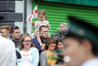Press Eye - Belfast - Northern Ireland - 12th July 2018 . General view of the North Down \'Twelfth\' celebrations in Newtownards town centre, County Down.. Photo by Kelvin Boyes / Press Eye..
