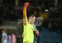 Tenants Country Antrim Shield Semi Final at Ballymena Showgrounds.  08.01.2019. Ballymena United v Linfield FC.  Linfield\'s goalkeeper Roy Carroll pictured after they win the match 1-2. . Mandatory CreditINPHO/PressEye.com/Jonathan Porter.