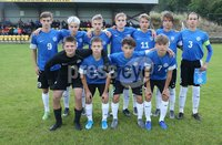 PressEye-Northern Ireland- 19th August  2019-Picture by Brian Little/PressEye. Estonia U16  team  during Monday evening\'s challenge match at Breda Park (Knockbreda FC).. Picture by Brian Little/PressEye .