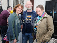 Press Eye - Belfast - Northern Ireland - 21st June 2019. Picture by Jonathan Porter/PressEye. File an Phobail 2019 August Festival Programme launch at Conway Mill in west Belfast. . Left to right.  Paula McFetridge, Dominic Montague and Paula Carson .  . PRESS RELEASE. ON BEHALF OF FILE AN PHOBAIL. For media enquiries please contact Sen Duffy on 07554010922 or email sean@evolvecpa.com. Boxing Star Michael Conlan launches File an Phobail 2019 August Festival Programme. Boxing star Michael Conlan today launched this years File an Phobails August festival programme, along with Belfast Mayor John Finucane, at a packed Conway Mill on Belfasts Falls Road.. Opening the launch event, Belfast Mayor John Finucane said:. For more than 30 years, organisers of File an Phobail have worked tirelessly to create a diverse, open and inclusive festival which celebrates the richness and diversity of Belfasts culture and communities.. Im delighted that Belfast City Council is one of the principal funders of this festival. What started out as a small but bold community festival three decades ago, has grown into a highly anticipated and important event on the citys festival calendar, attracting thousands of people each and every year, not just from across the city but across the world.. File an Phobail brings West Belfast to life, with a unique offering of events and activities which entertain, educate and challenge.. Its reputation continues to go from strength to strength and the positive economic impact it has on our city is fantastic.. This years packed festival programme has something for everyone to enjoy. The wide variety of acts and events showcases an incredible depth of talent across music, drama and the arts.. Visitors can look forward to performances by world-renowned music stars, debates, exhibitions, plays, sporting events, family and community events, and much more.. I want to wish all of the festival organisers and part