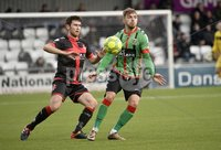 Danske Bank Premiership, Seaview Belfast.. Co Antrim 02/12/17. Crusaders v Glentoran. Mandatory Credit ©INPHO/Stephen Hamilton. Crusaders in action with Glentorans.