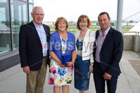 Press Eye - Belfast - Northern Ireland - 7th May 2018  - . May Day Meeting at Down Royal Racecourse.. Kevin Dundass, Mary Dundass, Siobhan Ward and Francis  Ward pictured at the County Down racecourse.. Photo by Kelvin Boyes / Press Eye .