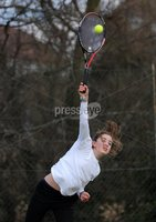 Presseye Ltd Northern Ireland 4th March 2012. Mandatory Credit - Photograph by Declan Roughan / Presseye. Tennis - Ulster Spring Provincial Match Plays 2012 - Belfast Boat Club 4th March 2012. Laura Reid, from the The Boat Club, played Lucy Octane from Donaghadee in the U16 Girls final