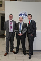 ©Press Eye Ltd Northern Ireland - 19th January 2012 - Mandatory Credit - Picture by Matt Mackey/Presseye.com. Gary McPherson Jim Eastwood Mark McKinstry