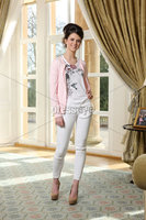 Press Eye - Belfast - Northern Ireland - Saturday 10th March 2012 -  Candy Plum fashion show at Hillsborough Castle. Sheena MacAuley. Picture by Kelvin Boyes / Press Eye .