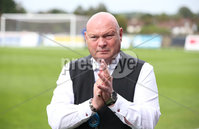 Danske Bank Premiership, Showgrounds, Ballymena  24/8/2019. Ballymena United  vs Glentoran FC . Ballymena United\'s manager David Jeffrey against  Glentoran .. Mandatory Credit  INPHO/Brian Little