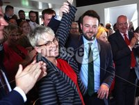 Press Eye © Belfast - Northern Ireland. Photo by Freddie Parkinson / Press Eye ©. Wednesday 17th May 2017. SDLP Leader Colum Eastwood formally launched the party's 2017  . Westminster Election campaign in the Newcastle Centre, 10-14 Central Promenade, Newcastle, Co Down.. SDLP Leader Colum Eastwood and South Down\'s Margaret Ritchie