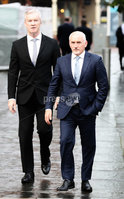 Press Eye - Belfast - Northern Ireland - 12th September 2020 . Barry McGuigan pictured as he heads into a High Court showdown with Carl Frampton in Belfast.. Mr Frampton, 32, is suing Mr McGuigan, his wife Sandra McGuigan and Cyclone Promotions (UK) Ltd, claiming a failure to pay purse money from his bouts.. Photo by Matt Mackey / Press Eye.