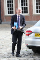 Press Eye - Belfast - Northern Ireland - 31st July 2020 - . Minister Peter Weir at the meeting of the North South Ministerial Council at Dublin Castle.. Photo by Kelvin Boyes / Press Eye..