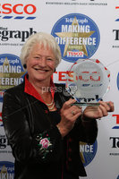 Press Eye - Belfast - Northern Ireland . 2012 Belfast Telegraph Making The Difference Awards  supported by TESCO.. Belfast Telegraph Making The Difference Outstanding Contribution to the Community Award supported by TESCO presented to Dame Mary Peters.  Mandatory credit: Picture by Brian Thompson/ Presseye.com. . .