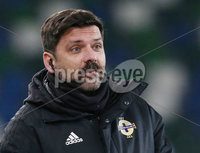 Danske Bank Premiership, Windsor Park, Belfast. 30/11/2019. Linfield FC  vs Larne FC. Referee 4th official Andrew Davey with his \'Movember\' moustache.. Mandatory Credit  INPHO/Brian Little