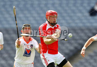 Nickey Rackard Final, Croke Park, Dublin 9/6/2012. Armagh vs Louth. Armagh\'s Pauric Hughes and Gary Rellis of Louth. Mandatory Credit ©INPHO/Ryan Byrne